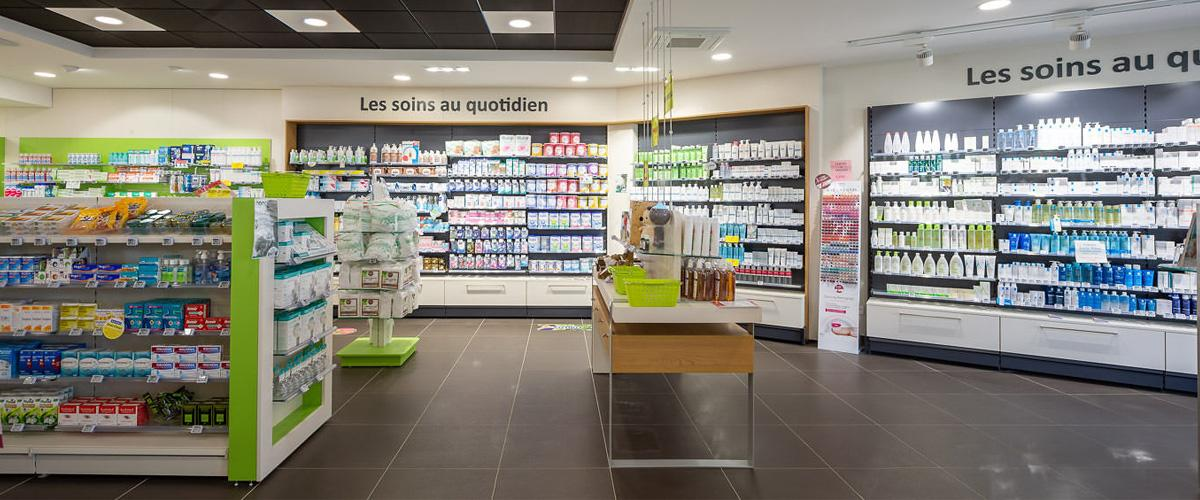 agencement pharmacie officine